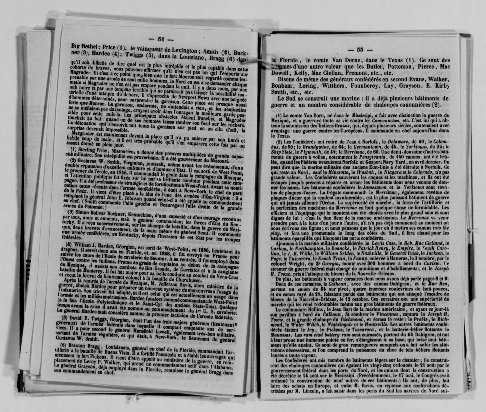 Confederate States of America records: Microfilm Reel 11