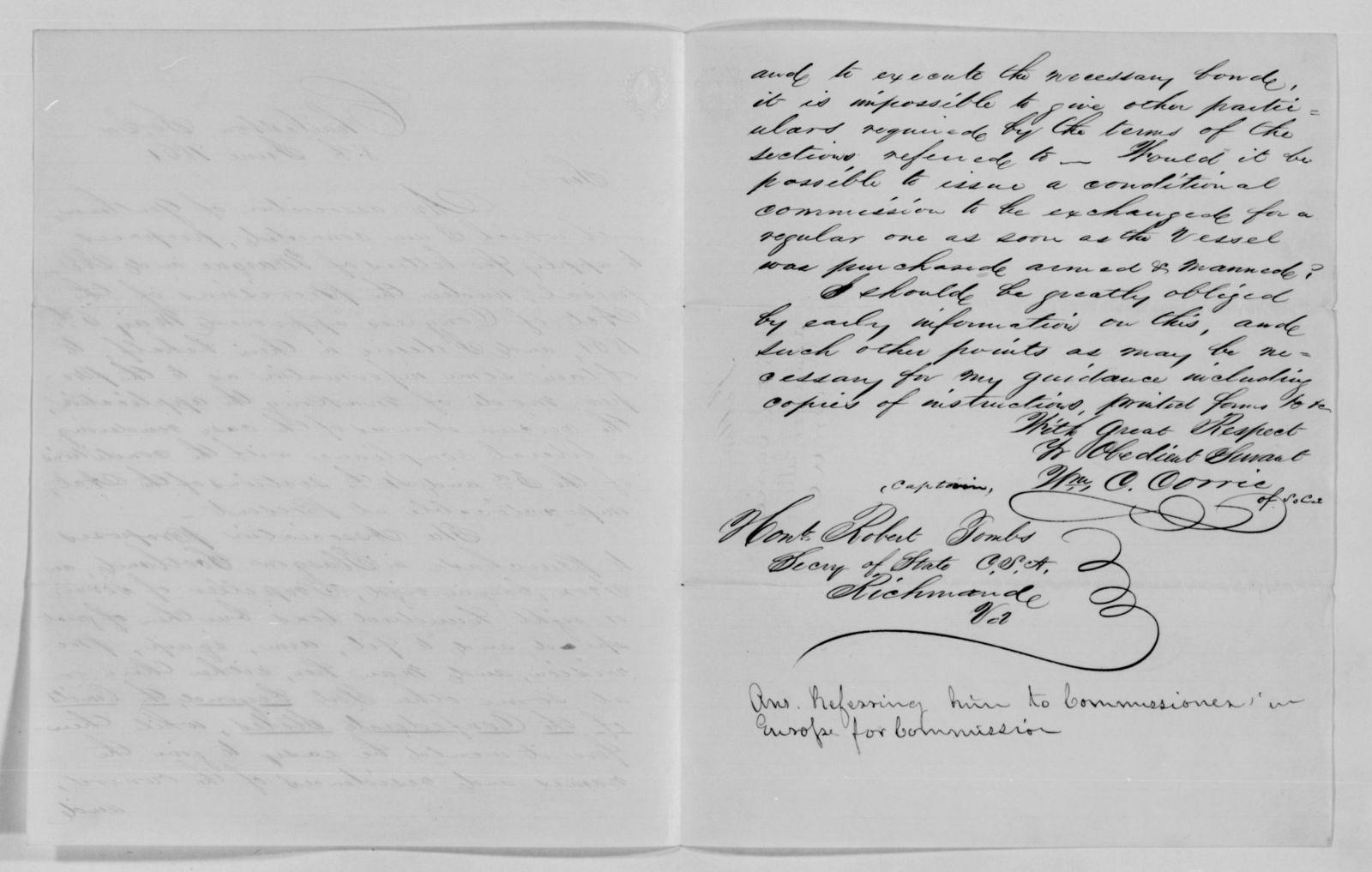 Confederate States of America records: Microfilm Reel 12