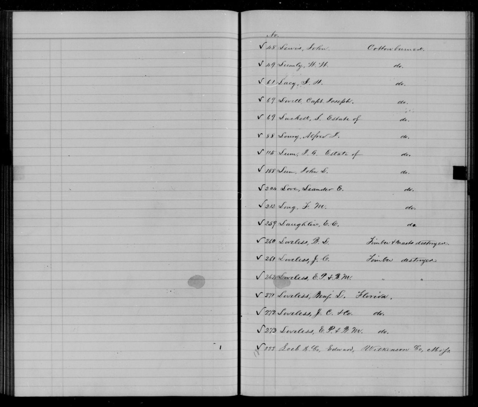 Confederate States of America records: Microfilm Reel 16