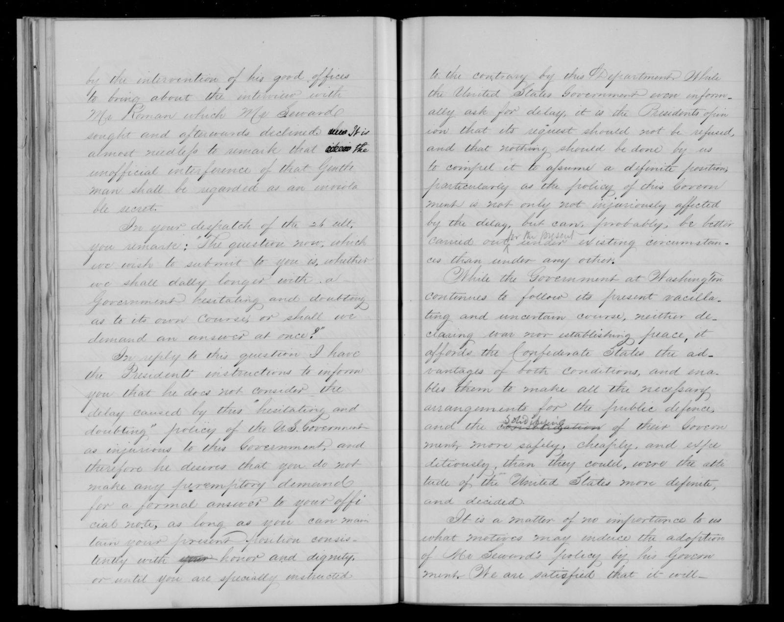 Confederate States of America records: Microfilm Reel 34
