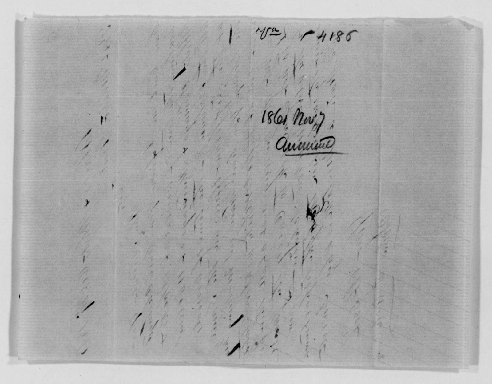 Confederate States of America records: Microfilm Reel 58