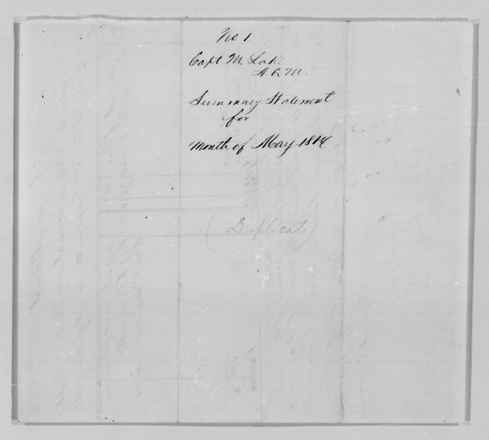 Confederate States of America records: Microfilm Reel 67