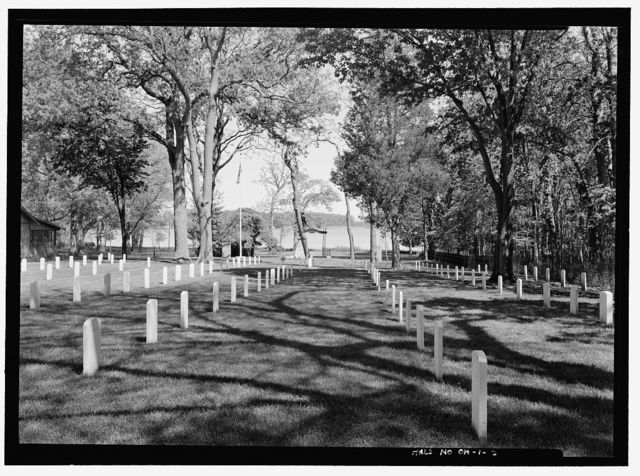 Confederate Stockade Cemetery, Johnson's Island, Sandusky, Erie County, OH
