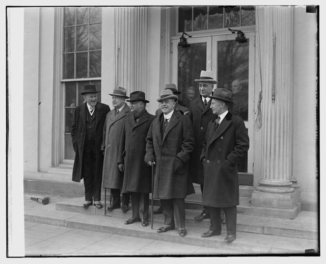 Cong. Delegation at W.H., 2/13/29
