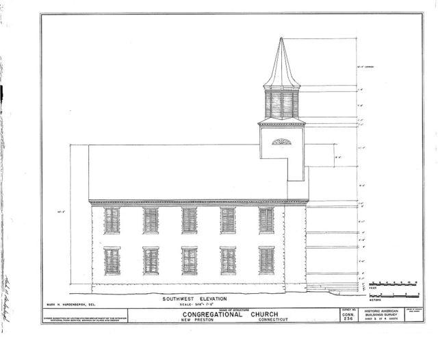 Congregational Church, New Preston, Litchfield County, CT