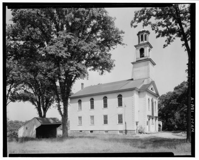 Congregational Church, Old Post Road, North Attleboro, Bristol County, MA