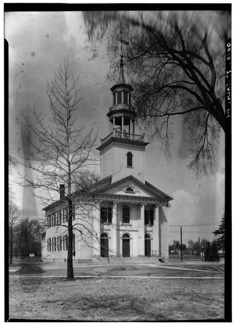 Congregational Church, Village Green, Tallmadge, Summit County, OH