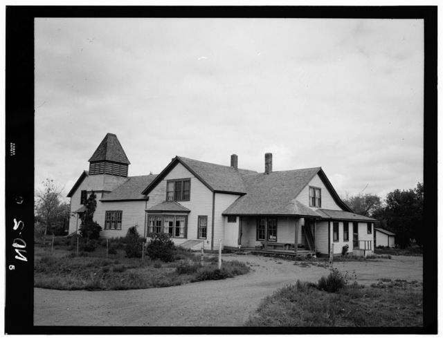 Congregational Mission, Fort Berthold Indian Reservation, White Shield, McLean County, ND