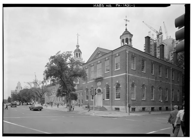 Congress Hall, Sixth & Chestnut Streets, Philadelphia, Philadelphia County, PA