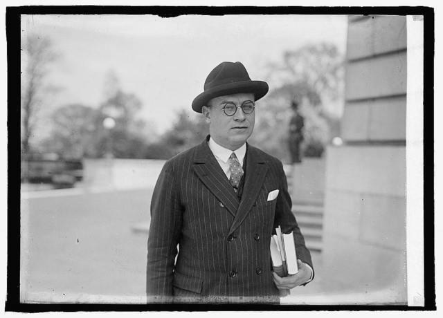 Congressman Manuel Celler of N.Y., 4/26/24