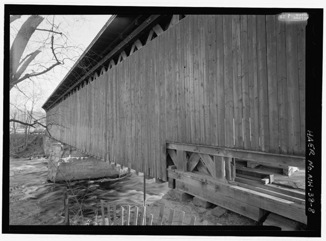 Contoocook Railroad Bridge, Spanning Contoocook River at former Boston & Maine Railroad (originally Concord & Claremont Railroad), Hopkinton, Merrimack County, NH
