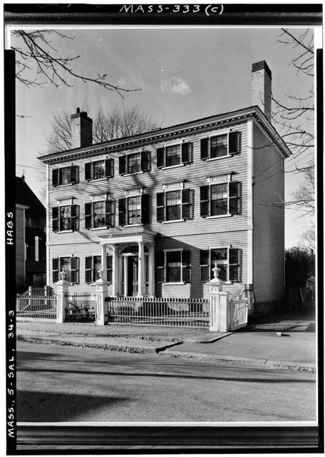 Cook-Oliver House, 142 Federal Street, Salem, Essex County, MA