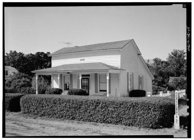 Cool House, East California Street & Sixth Street, Jacksonville, Jackson County, OR