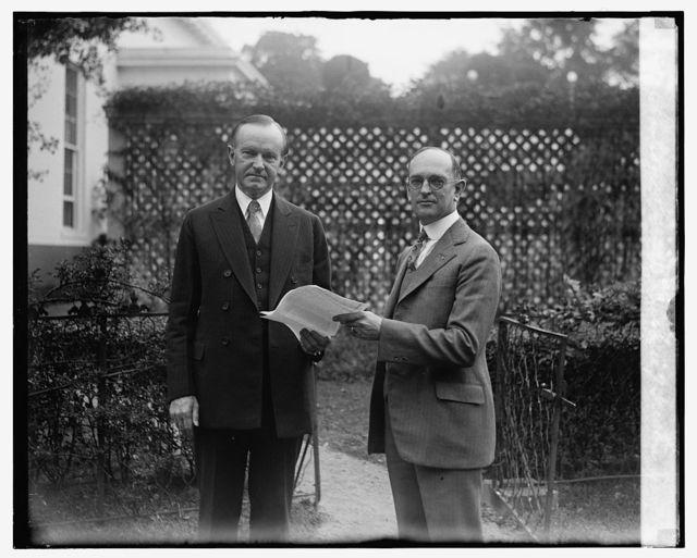 Coolidge & Geo. W.Guthrie of Trenton, 8/22/26