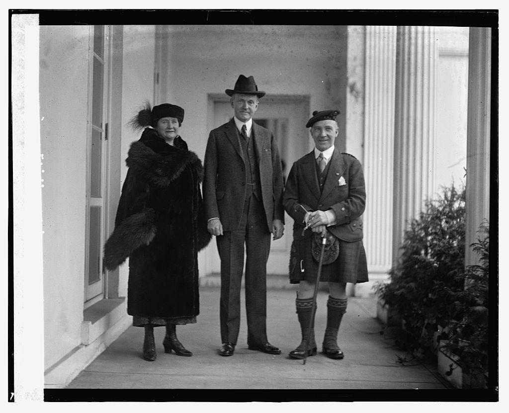 Coolidge & Harry Landes, 2/26/24
