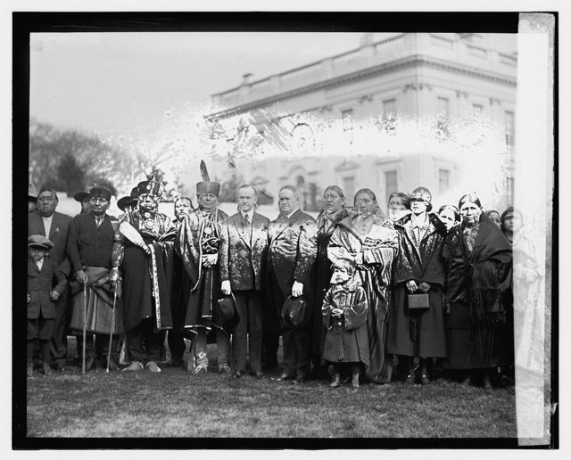 Coolidge & Indian group, 1/19/24