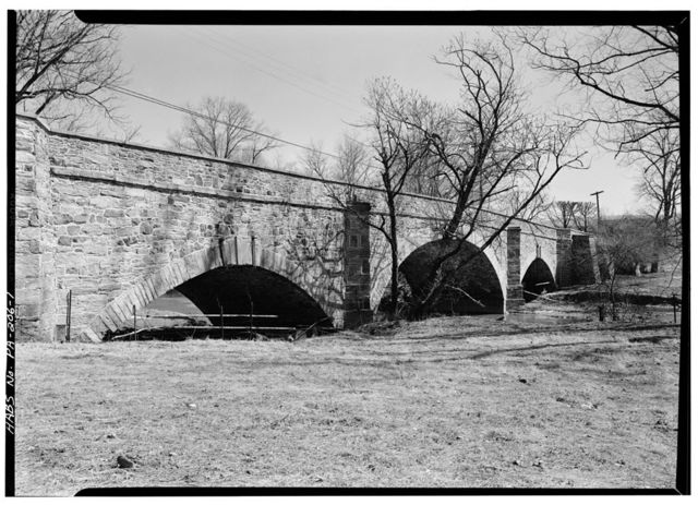 Cope's Bridge, State Route 162, spanning Brandywine Creek (East Bradford Township), Copesville, Chester County, PA