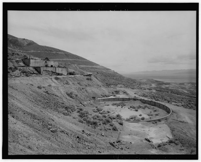Copper Canyon Camp of the International Smelting & Refining Company, Concrete Reservoir, Copper Canyon, Battle Mountain, Lander County, NV