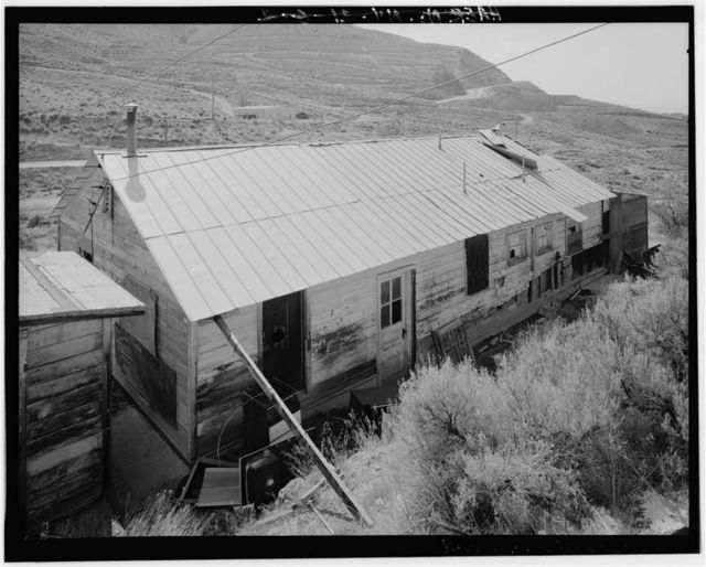 Copper Canyon Camp of the International Smelting & Refining Company, Duplex, Copper Canyon, Battle Mountain, Lander County, NV