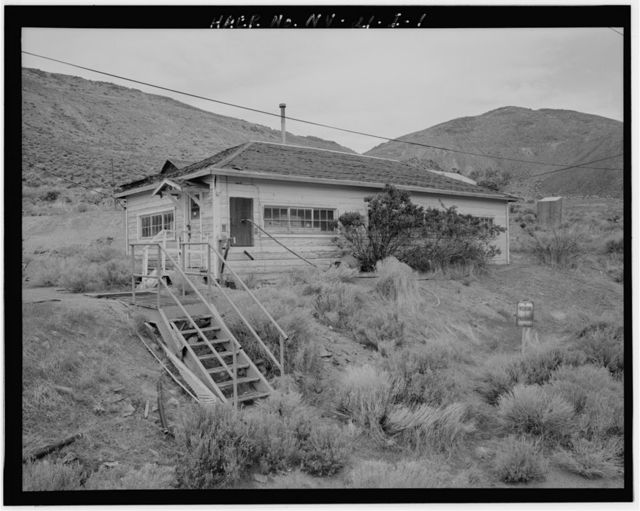 Copper Canyon Camp of the International Smelting & Refining Company, Office, Copper Canyon, Battle Mountain, Lander County, NV