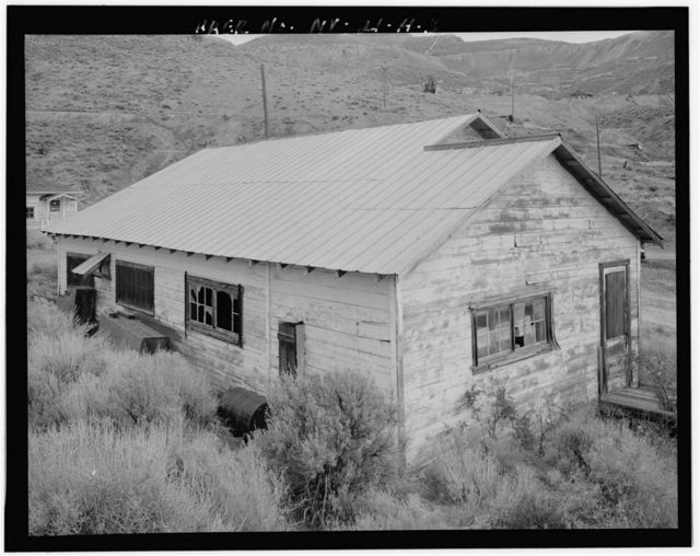 Copper Canyon Camp of the International Smelting & Refining Company, Staff House, Copper Canyon, Battle Mountain, Lander County, NV