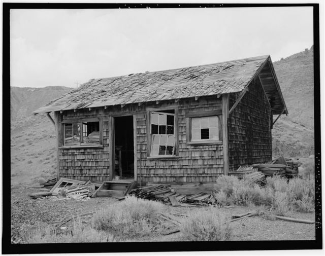 Copper Canyon Camp of the International Smelting & Refining Company, Storage, Copper Canyon, Battle Mountain, Lander County, NV