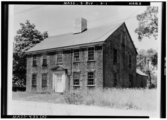 Coram House, Dighton, Bristol County, MA