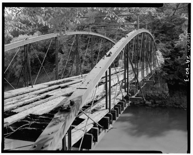 Corbett's Mill Bridge, Spanning Maquoketa River at abandoned county road, 3 miles northeast of Scotch Grove, Scotch Grove, Jones County, IA