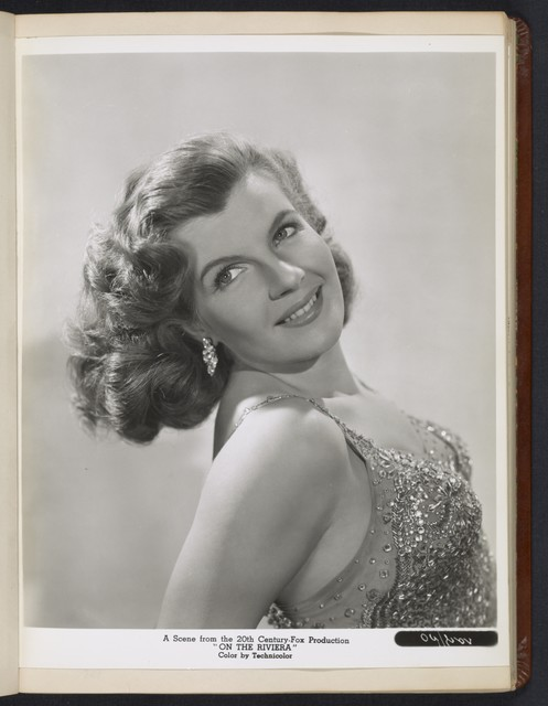 "[ Corinne Calvet headshot - from ""On the Riviera""]"