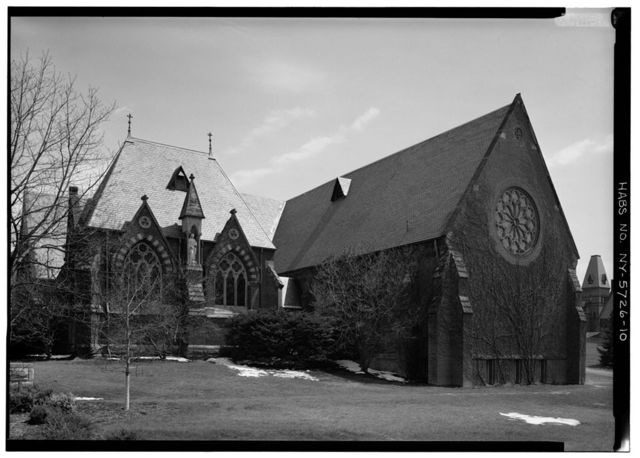 Cornell University, Sage Chapel, Central Avenue, Ithaca, Tompkins County, NY