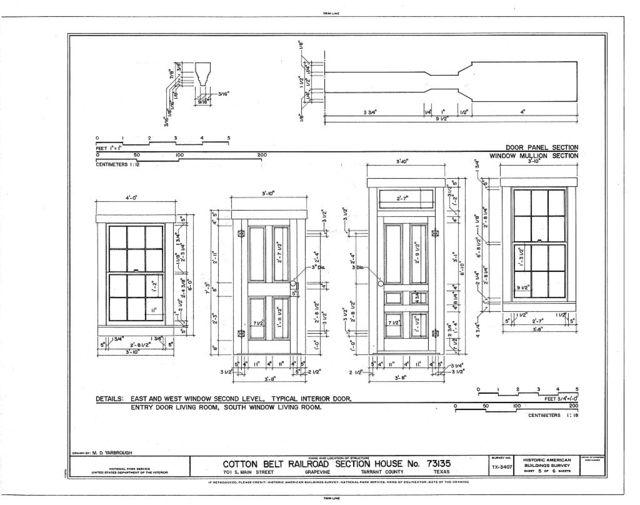 Cotton Belt Railroad Section House No. 73135, 701 South Main Street, Grapevine, Tarrant County, TX