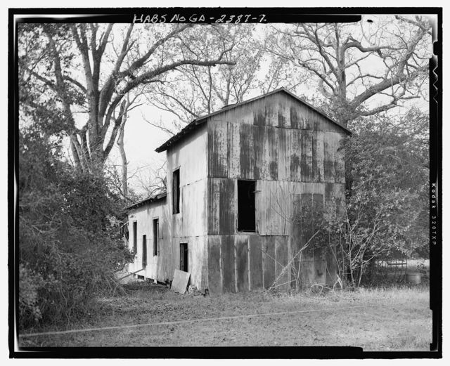 Cotton Gin, State Highway 3/U.S. Highway 19 at Croxton Cross Road, Sumter, Sumter County, GA