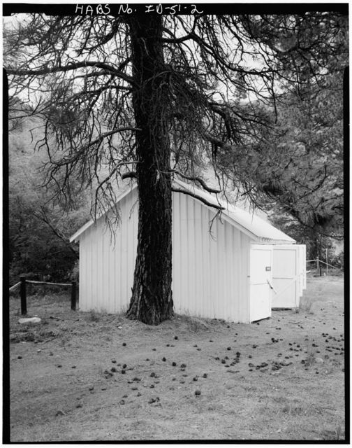 Cottonwood Work Station, Garage, Idaho City, Boise County, ID