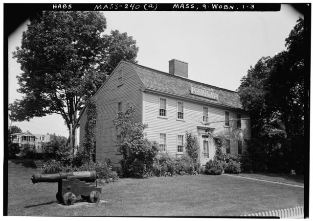 Count Rumford Birthplace (Garden), 90 Elm Street, North Woburn, Middlesex County, MA