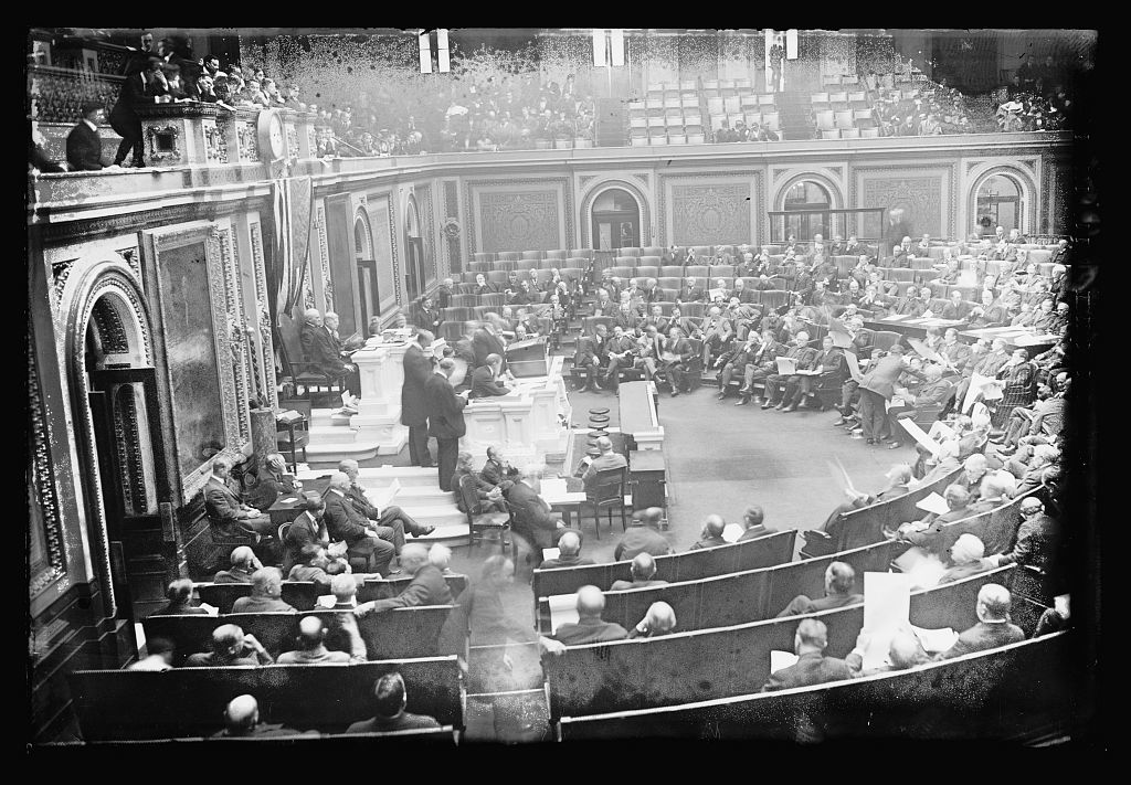 Counting electorial vote, U.S. Capitol, [Washington, D.C.], 4/14/17