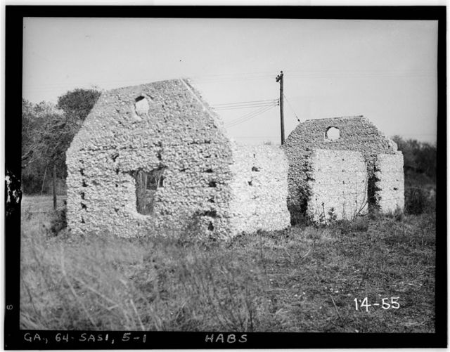 "Couper's Point, ""Rest"" House (Ruins), Couper's Point, Saint Simons Island, Glynn County, GA"
