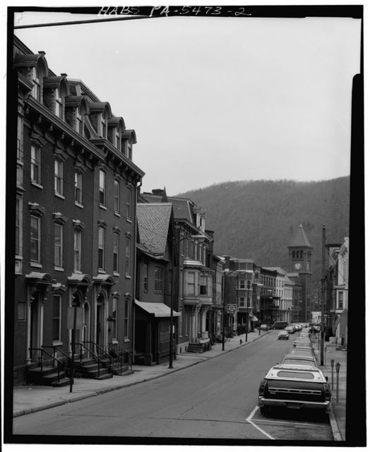 Courthouse Square, Jim Thorpe, Carbon County, PA