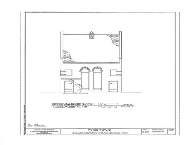 Cousin Cottage, 1231 Marais Street, Faubourg Treme, New Orleans, Orleans Parish, LA