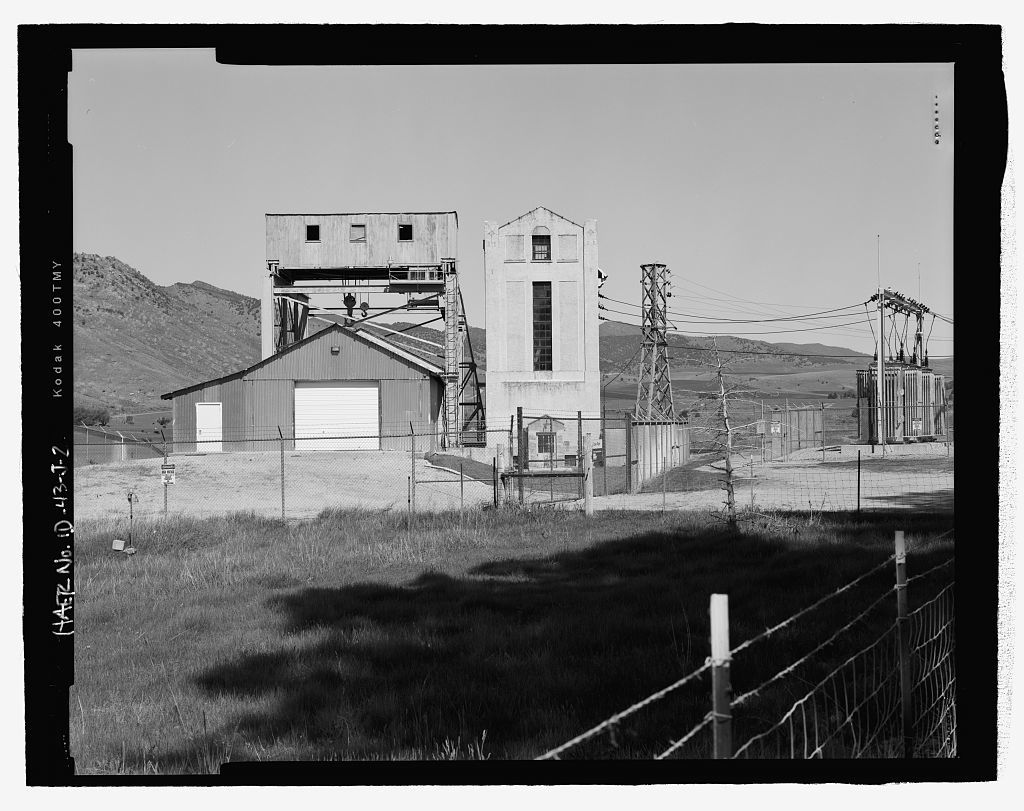 Cove Hydroelectric Development, Cove Power House, Cove Power Plant Road, Grace, Caribou County, ID