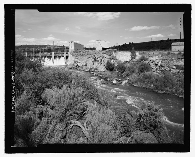 Cove Hydroelectric Development, Cove Power Plant Road, Grace, Caribou County, ID