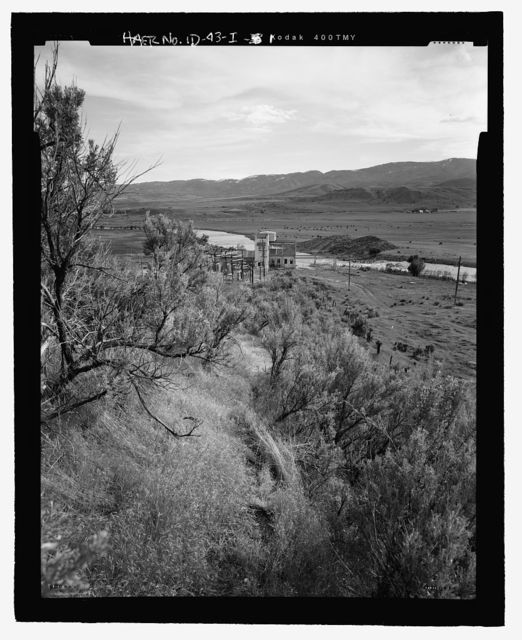Cove Hydroelectric Development, Penstock, Cove Power Plant Road, Grace, Caribou County, ID