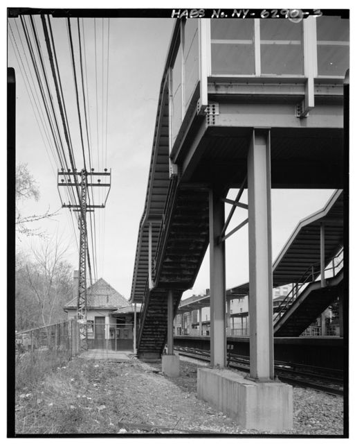 Crestwood Railroad Station, Fisher Avenue at Columbus Avenue & Crestwood Plaza, Tuckahoe, Westchester County, NY