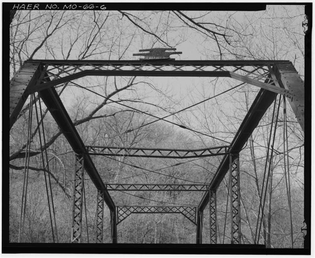 Crooked River Bridge, Spanning Crooked River south of Route FF, Rayville, Ray County, MO