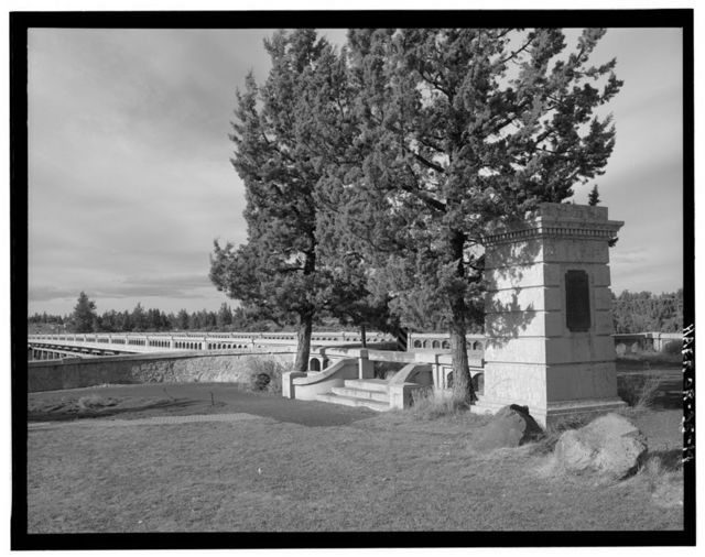 Crooked River High Bridge, Spanning Crooked River Gorge at Dalles-California Highway, Terrebonne, Deschutes County, OR
