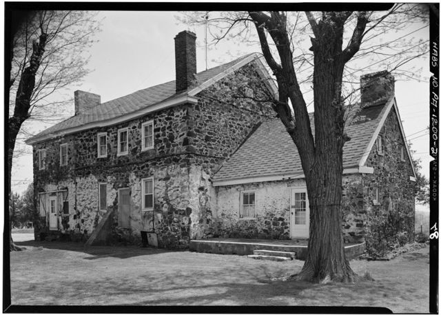 Cross Keys Tavern, State Routes 272 & 42 vicinity (East Nottingham Township), Chrome, Chester County, PA