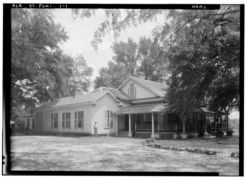 Crowell-Cantey-Alexander House, State Road 165, Fort Mitchell, Russell County, AL
