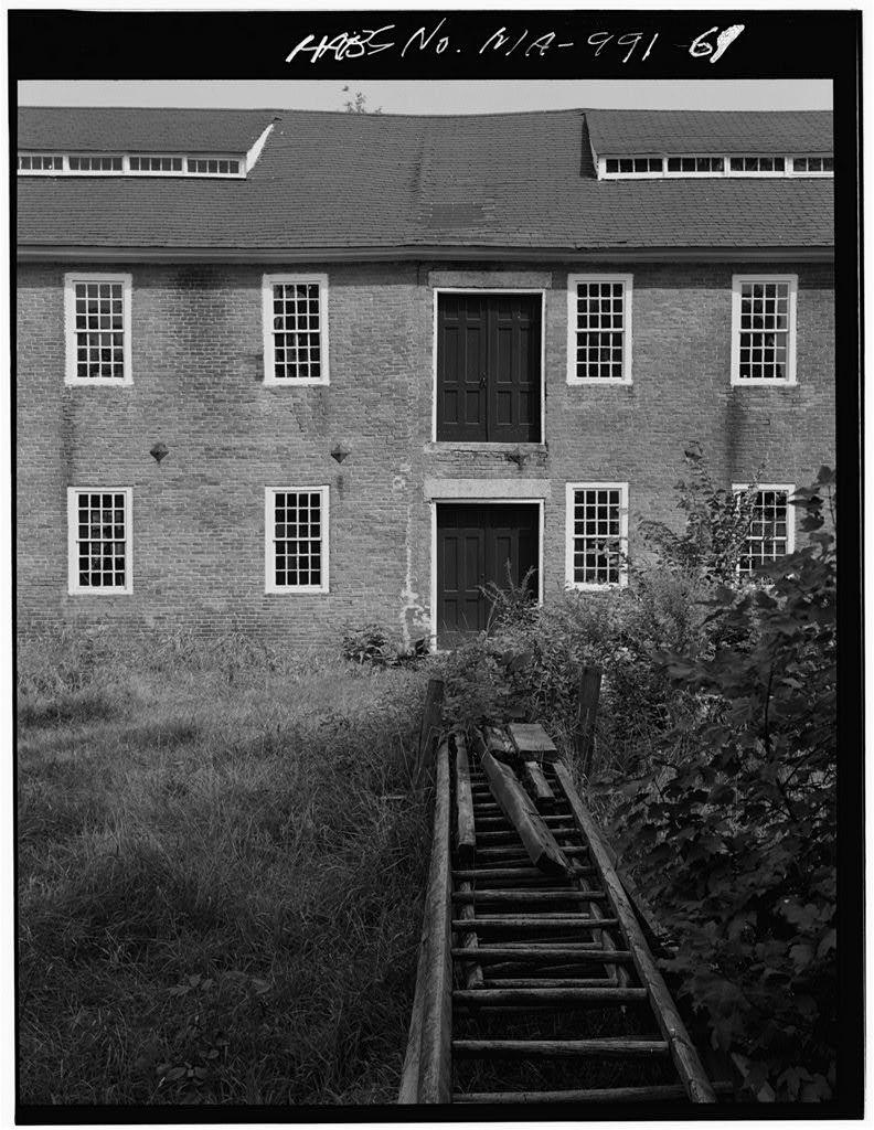 Crown & Eagle Mills, 123 Hartford Avenue East, North Uxbridge, Worcester County, MA