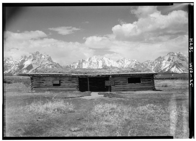 Cunningham Cabin, Between Snake River & U.S. Route 89, Moose, Teton County, WY