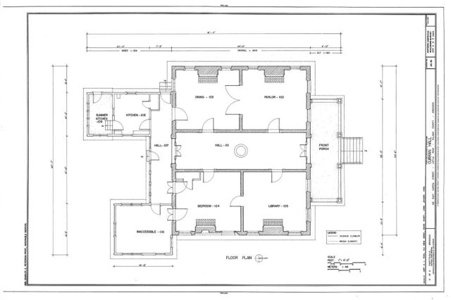 Curran Hall, 615 East Capitol Street, Little Rock, Pulaski County, AR