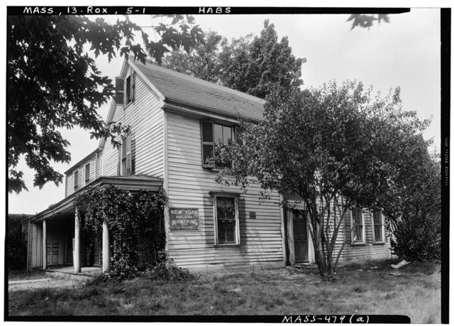 Curtis House, Roxbury, Suffolk County, MA
